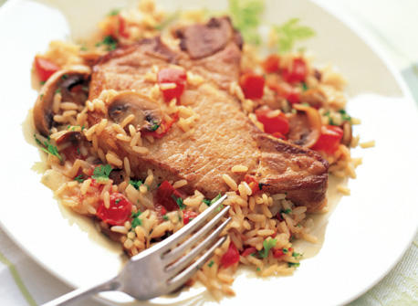 Pork Chops and Rice one-Pot Supper Recipe