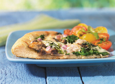 Portobello Swiss Pizza Recipe