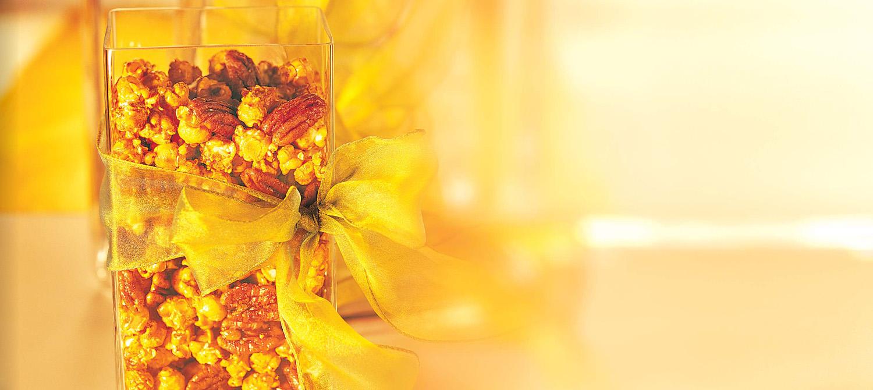 Macadamia Butter-Crunch Popcorn Topping Recipe..