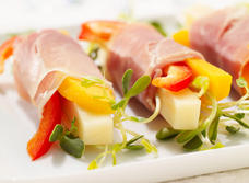 Prosciutto Antipasto with Canadian Swiss Cheese