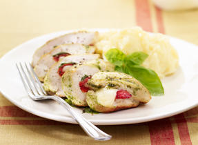 Provolone Stuffed Chicken