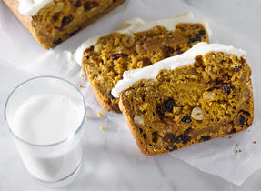 Pumpkin Bread with Dried Fruit