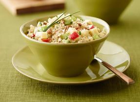Quinoa, Cheddar and Apple Salad