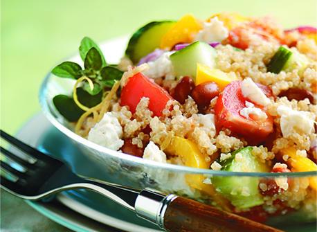 Quinoa Greek Salad recipe | Dairy Goodness