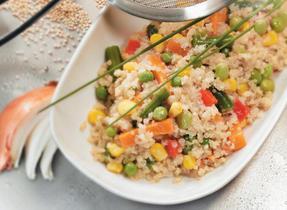 Rainbow Quinoa Pilaf
