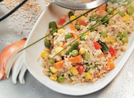 Rainbow Quinoa Pilaf Recipe