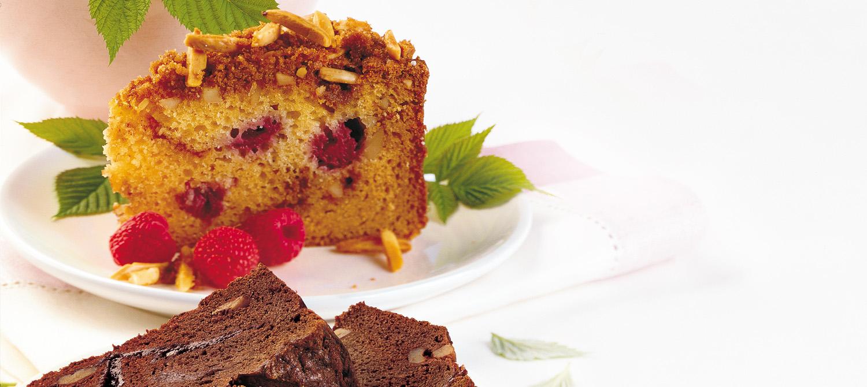Raspberry Almond Coffeecake recipe   Dairy Goodness