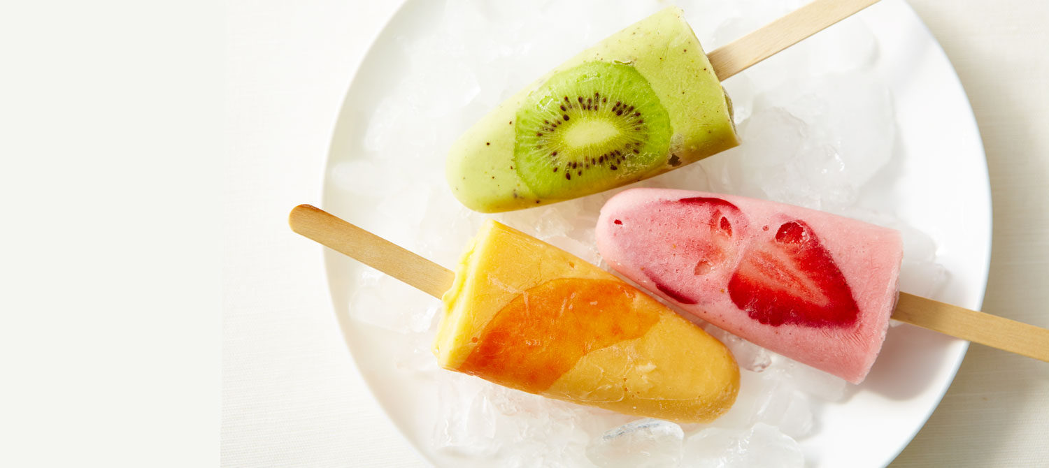 Ricotta and Tropical Fruit Frozen Pops recipe | Dairy Goodness