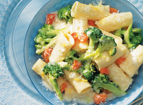 Rigatoni with Garlic & Broccoli