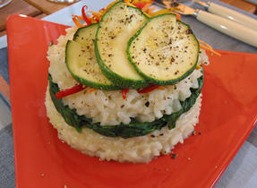 Risotto with Three Cheeses