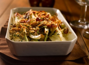 Roasted Fennel and Prosciutto Breadcrumbs