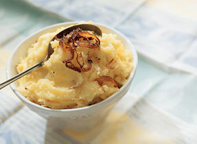 Roasted Onion Mashed Potatoes