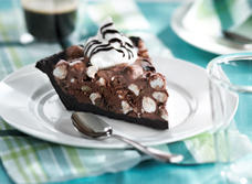Rocky Road Ice Cream Pie recipe