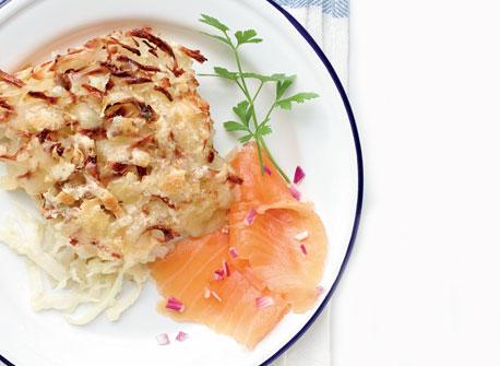Röesti Potato Bake Recipe