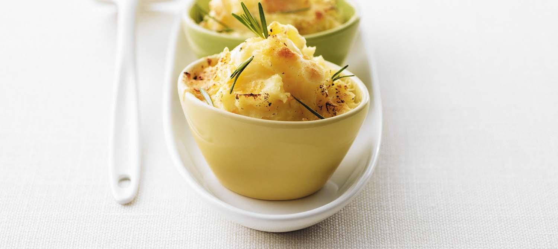 Rosemary Mashed Potato Gratin recipe | Dairy Goodness