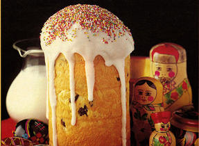 Russian Kulich Bread