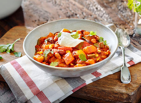 Rustic Veggie Chili Recipe