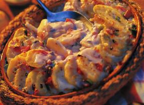 Salsa Scalloped Potatoes