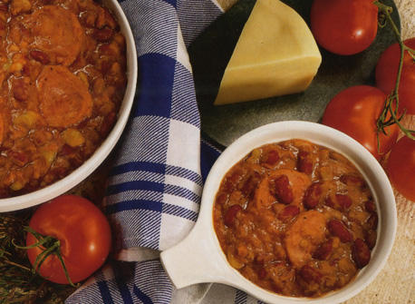 Sausage and Bean Cassoulet Recipe