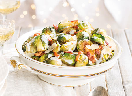 Sautéed Brussels Sprouts with Bacon Recipe
