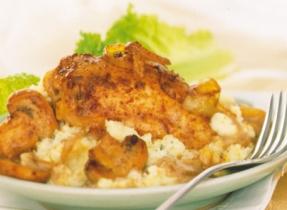 Sautéed Chicken with Easy Mushroom Sauce