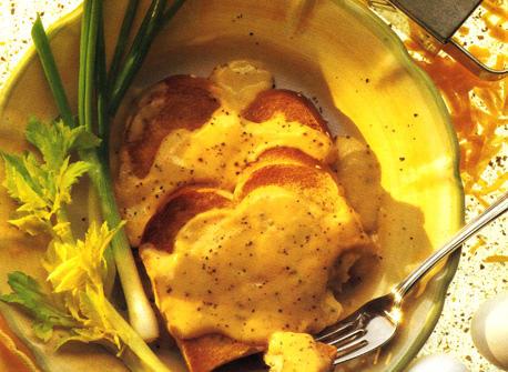Savoury Cheese Melt on Toast Recipe