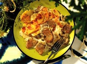 Scalloped Pork and Potato Casserole
