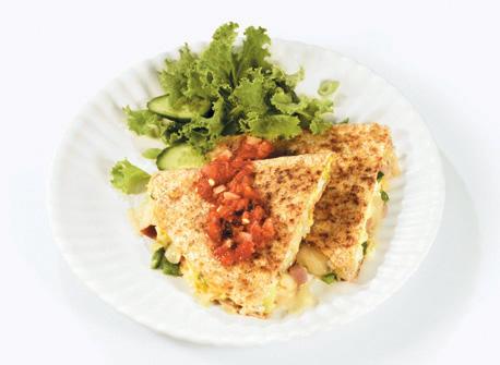 Scrambled Western Quesadillas  Recipe