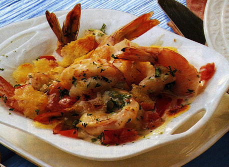 Seafood and Swiss Gratin  Recipe