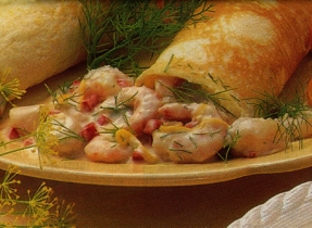 Seafood Crêpes