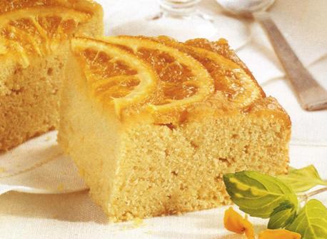 Semolina Pudding Cake with Bitter Orange Glaze recipe | Dairy Goodness