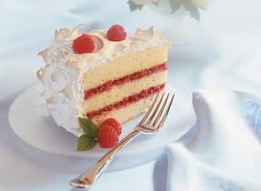 Showstopping Ribbon Cake