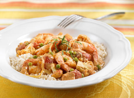 Shrimp and Cauliflower Curry Recipe