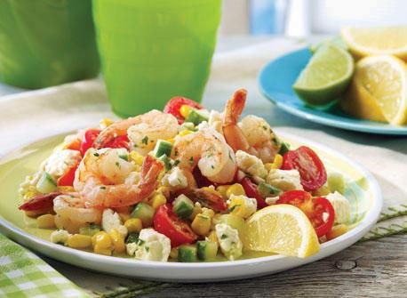 Shrimp and Feta papillote Recipe