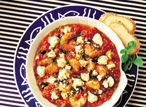 Shrimp & Canadian Feta Casserole