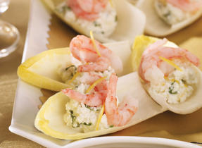 Shrimp & Ricotta Endives