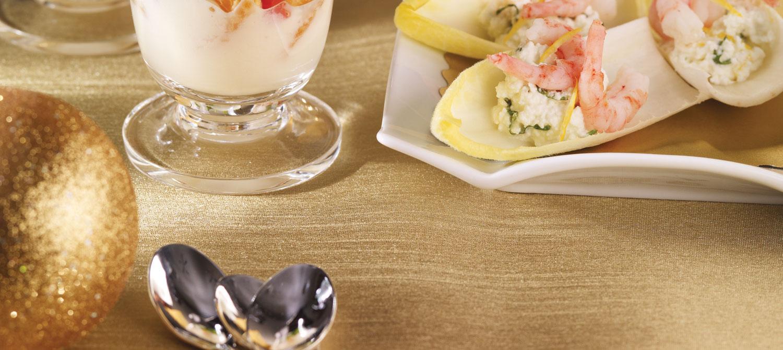 Shrimp & Ricotta Endives recipe | Dairy Goodness