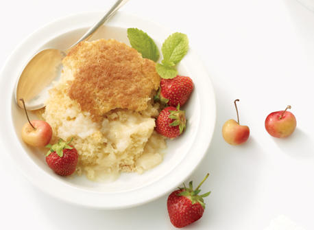 Simply Lovely Vanilla Pudding Cake Recipe Dairy Goodness