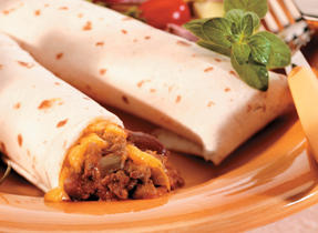 Sloppy Joe Burritos