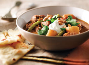 Slow Cooker Beef  & Potato Curry