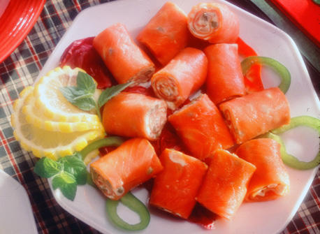 Smoked Salmon Rolls recipe | Dairy Goodness