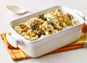 Smoky Cauli-power Mac & Cheese