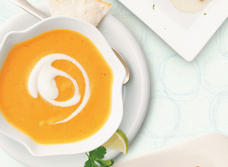 Southwest Sweet Potato Soup