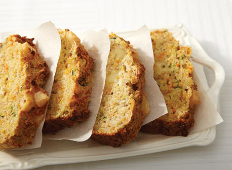 Spiced Squash and Carrot Loaf with Gouda Recipe
