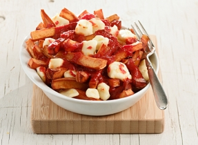 Spicy poutine
