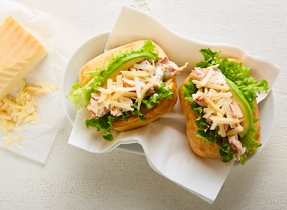 Spicy & smoky lobster rolls