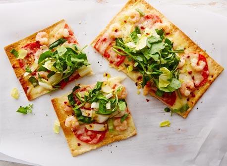 Spicy spring pizza Recipe