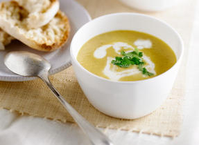 Spicy Squash and Apple Soup