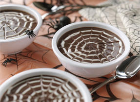 Spider Web Pudding