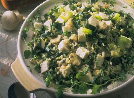 Spinach and Feta Rice Recipe